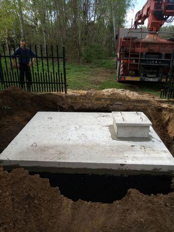 Zbiornik betonowy 5000 litrów na szambo ścieki