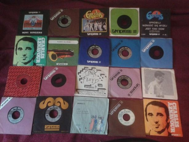 płyty vinylowe, różne