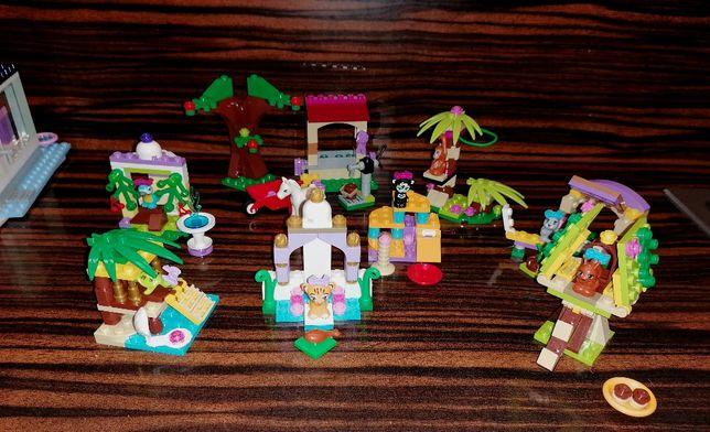 Kilka zestawów LEGO Friends zwierzątka Super zestaw