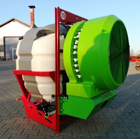 Opryskiwacz 400 litrów sadowniczy do sadu DEMROL wentylator producent