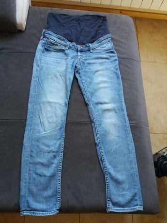 Dżinsy jeansy jasne ciemne ciążowe