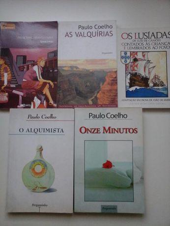 Livros de Paulo Coelho + Mª Maia González ENTREGA IMEDIATA