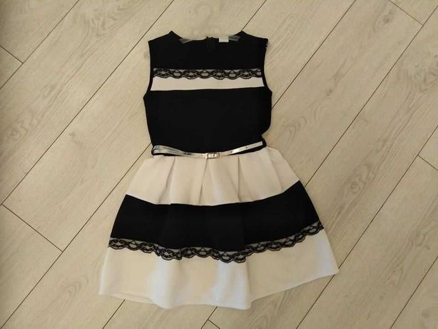 Sukienka elegancka wizytowa galowa z wadą rozmiar 140
