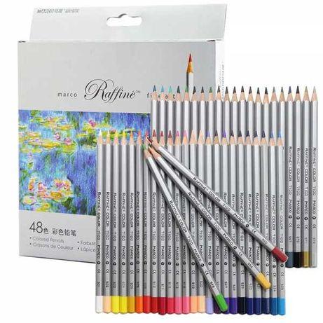 """Набор цветных карандашей """"Raffine"""", 48 цветов - Marco"""