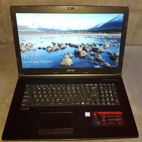Laptop do gier Msi gl72 7rd
