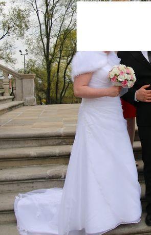 Sukienka ślubna  Emmi Mariage biała rozmiar 44