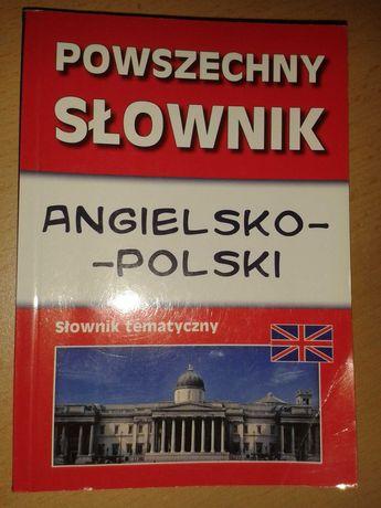 Powszechny SŁOWNIK angielsko - polski z podziałem tematycznym ! ! !