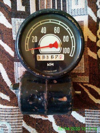 Спідометр та єлектро двигун 12 в.