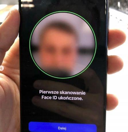 Naprawa Serwis iPhone X XS 11 Pro Max Face ID wyżej niżej