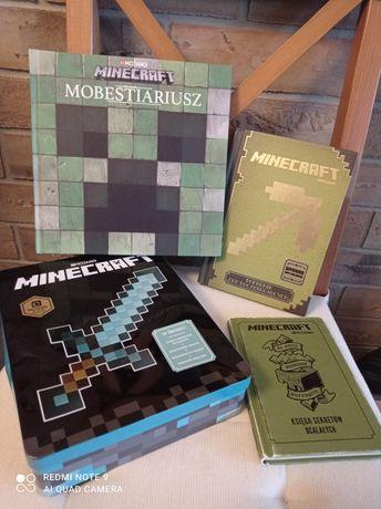 Zestaw książek Minecraft