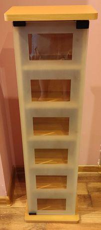 Witryna - szafka ze szklanymi drzwiami (2x)
