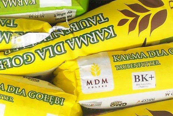 Karma dla gołębi BK PLUS bez kukurydzy psze MDM25kg gołąb gołębie 1302