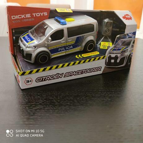 Interaktywny Radiowóz policyjny Citroen Dickie Toys