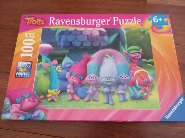 Sprzedam puzzle Troll firmy Ravensburger