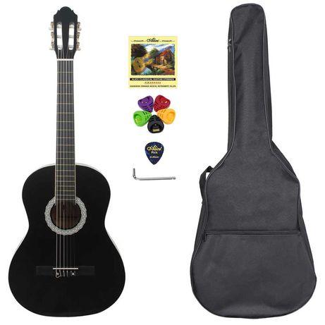 Гитара классическая Almira CG-1702BK (чехол+капа+медиатор+ключ+струна)
