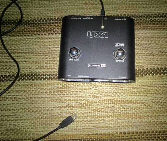 Interface Line 6 UX1