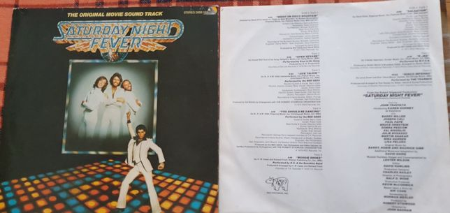 Saturday Night Fever The Original Movie Sound Track Bee Gees MINT 2xLP