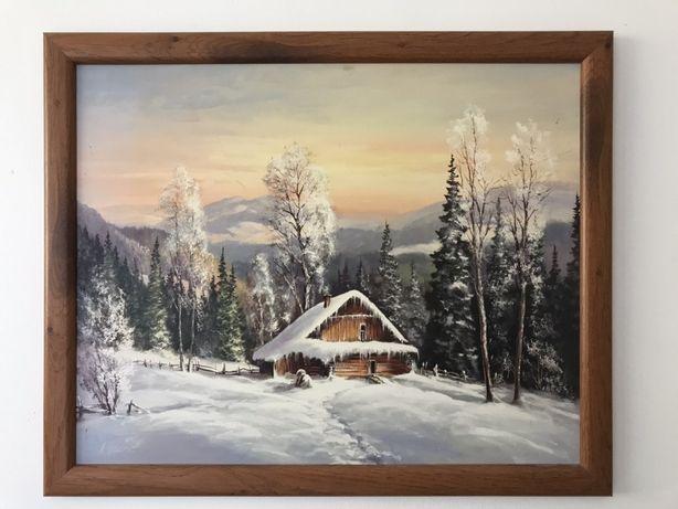 Obrazek Domek Zimą
