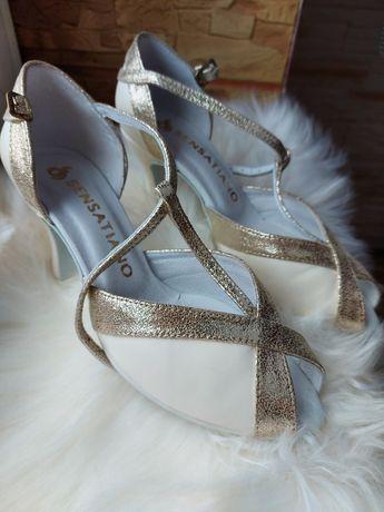 Buty szpilki ślubne Sensatiano Holly