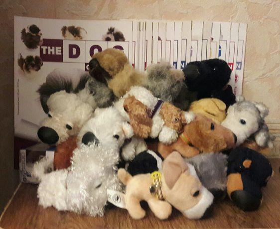 The DOG collection с журналом. Мягкие игрушки собачки.Одним лотом!