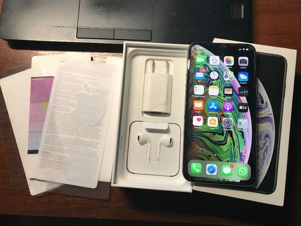 IPHONE XS MAX idealny stan 64GB Pełen Zestaw Biały
