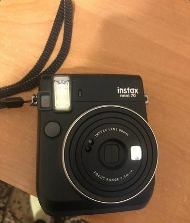 Камера моментальной печати Fujifilm INSTAX Mini 70 Black