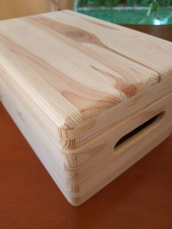 Skrzynka /pudełko drewniane Decoupage 29,4cm x 19,4cm (dostępne 50szt.