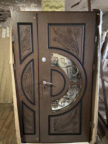 Двері вхідні полімерна накладка вуличні