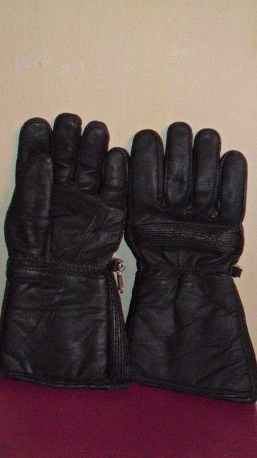 мотоперчатки нат.кожа мех новые ixs-real leather uk  L