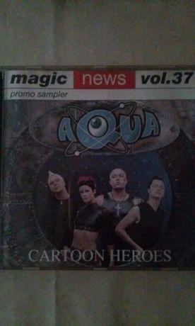 płyta cd 'aqua Cartoon Heroes'cena z przesyłką