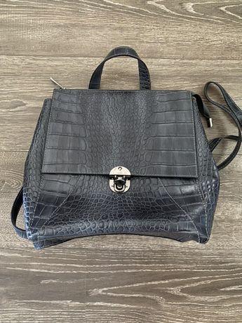 Продам кожаный рюкзак