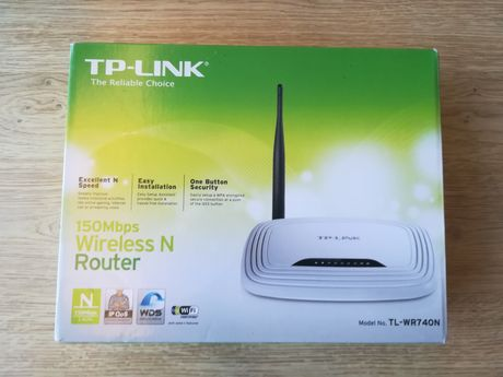 Router TP Link Wr740n