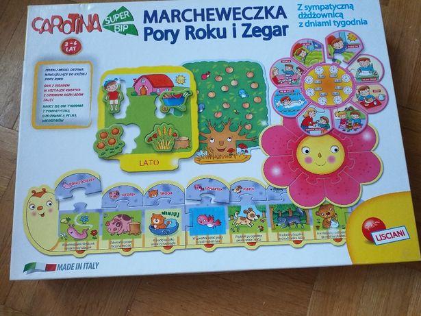 Marcheweczka Pory roki i zegar - gra Lisciani