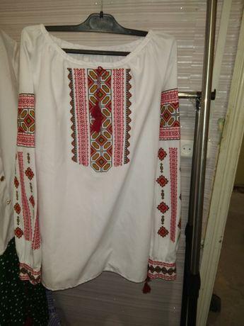 Украинская женская сорочка вышиванка
