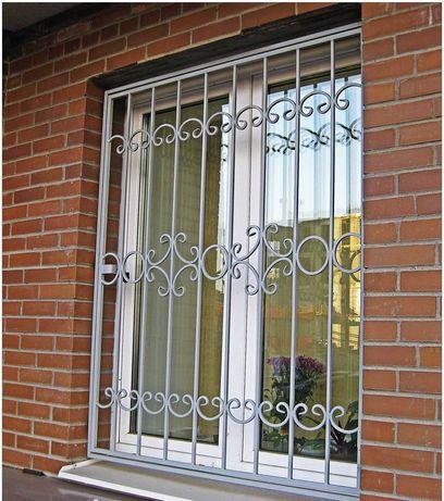 Кованый забор, ворота, решетки на окна, перила, лестницы, навесы