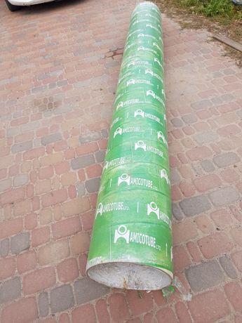 Картонная опалубка для колон свай фундамента Амикотюб