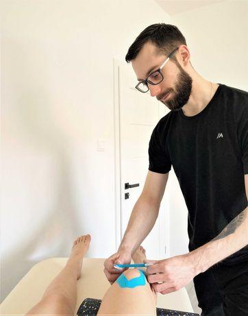 Mobilny Fizjoterapeuta Dawid Burcza - fizjoterapia rehabilitacja masaż