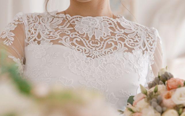 Продам весільне плаття білого кольору