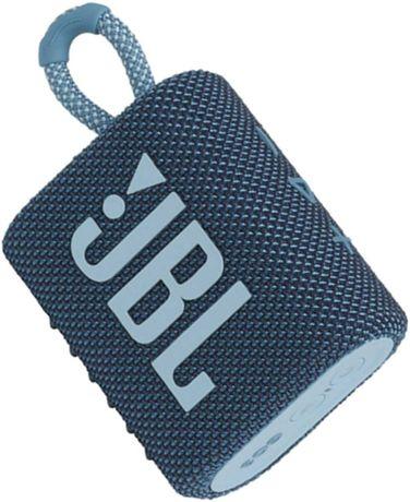 Coluna JBL Go 3 Azul - Nova