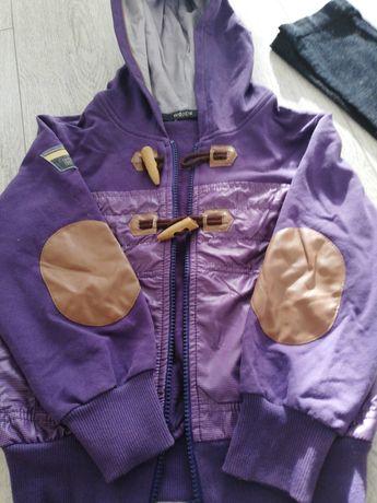 Bluza z Wójcika  fioletowa