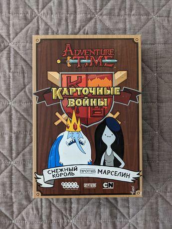 Игра Время приключений. Карточные войны: Снежный король & Марселин