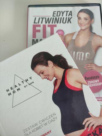 Zestaw ćwiczeń dla kobiet w ciąży DVD Lewandowska Litwiniuk