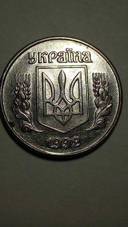 Продам монету Украины 1 копейку 1992 года