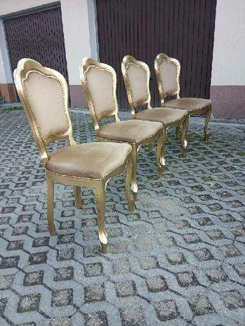 Krzesła ludwikowskie stare 4 szt