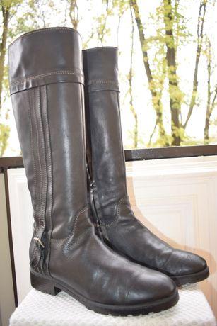 кожаные сапоги зимние демисезонные р.42 27,5 см Geox Геокс