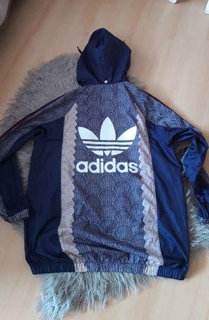 Adidas kurtka  sportowa  wiatrówka L/XL