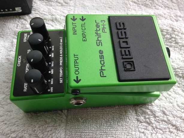 Pedal de Guitarra BOSS PH3 PHASE SHIFTER Verde