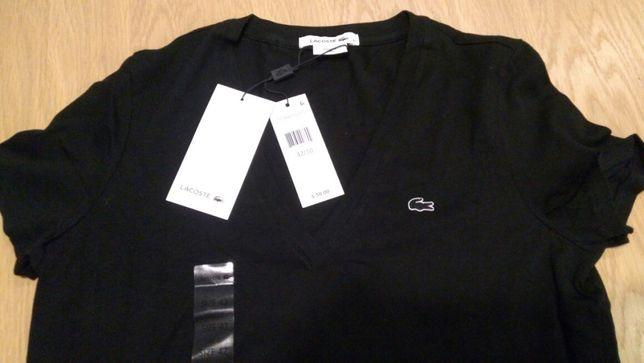 Lacoste koszulka damska t-shirt rozmiar 42