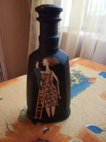 Бутылка коллекционная смешной подарок