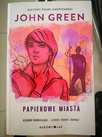 Papierowe Miasta druga książka gratis John Green